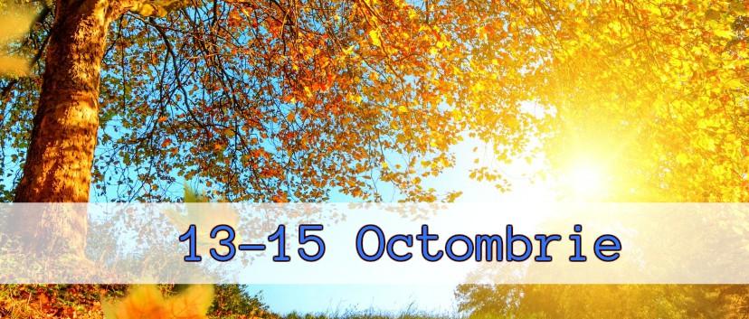 Ce facem în weekend? 13-15 Octombrie 2017